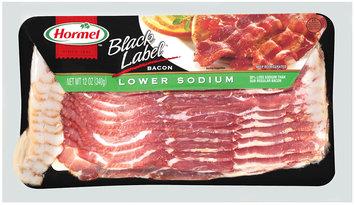 Hormel Balck Label® Lower Sodium Bacon 12 oz. Package