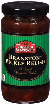 Crosse & Blackwell® Branston® Pickle Relish 10.9 oz. Bottle