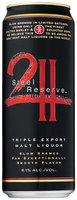 Steel Reserve Triple Export Slow Brewed 8.1% Alcohol Malt Liquor 24 Oz Can
