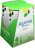 Aquafina™ Sparkling Lemon Lime Sparkling Water Beverage 4-12 fl. oz. Cans