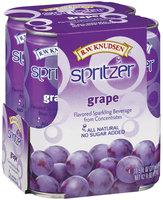 R.W. Knudsen Grape 10.5 Oz Spritzer 4 Ct Pack