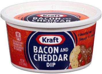 Kraft Bacon and Cheddar Dip 12 oz. Tub