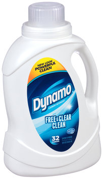 Dynamo® with Free & Clear Clean Laundry Detergent 50 fl. oz. Bottle