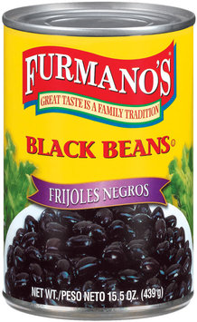 Furmano's  Black Beans 15.5 Oz Can