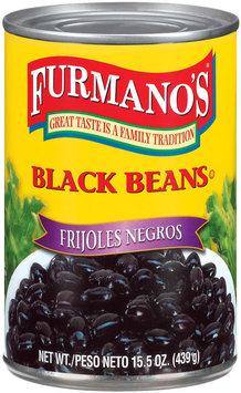Furmano's  Black Beans 15.5 Oz Can