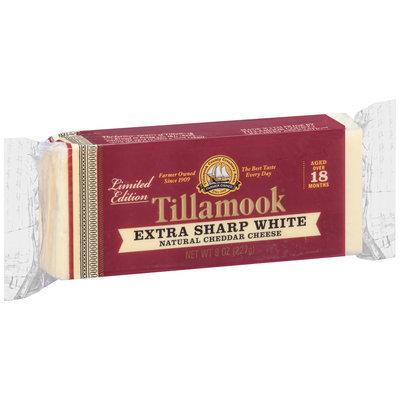 Tillamook® Limited Edition Extra Sharp White Natural Cheddar Cheese 8 oz. Block