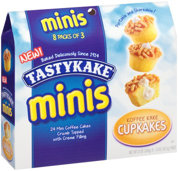 Tastykake® Minis Koffee Kake Cupcakes 8 - 1.5 oz Packages