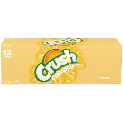 Crush® Pineapple Soda 12-12 fl. oz. Cans