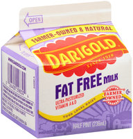 Darigold® Fat Free Milk Vitamin A & D .5 pt. Carton