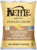 Kettle Brand® Roasted Garlic Potato Chips 2 oz. Bag
