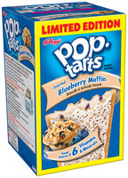 Kellogg's Pop-Tarts Frosted Blueberry Muffin Toaster Pastries