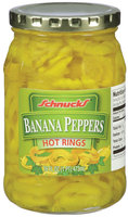 Schnucks® Banana Peppers Hot Rings 16 fl. oz.