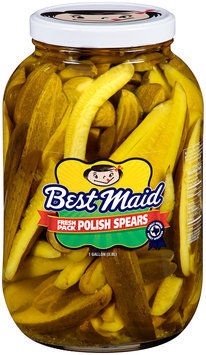 Best Maid® Polish Spears 1 gal. Jar