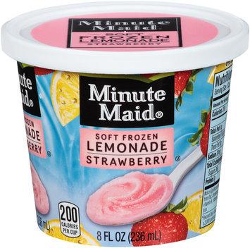 Minute Maid® Strawberry Soft Frozen Lemonade 8 fl. oz. Cup