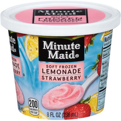 Minute Maid® Soft Frozen Lemonade Strawberry