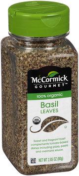 McCormick® Gourmet™ 100% Organic Basil Leaves