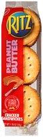 Nabisco Ritz Peanut Butter Cracker Sandwiches 1.38 oz. Pack