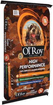 ol' roy® high performance dry dog food