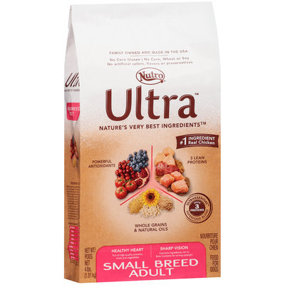Nutro® Ultra™ Small Breed Adult Dog Food 4 lb. Bag