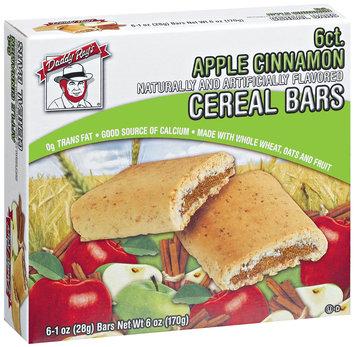 Daddy Ray's Apple Cinnamon Cereal Bars 6 Ct Box