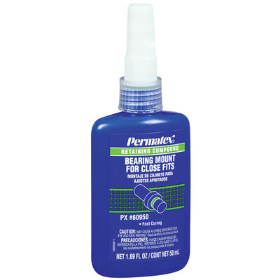 Permatex® Retaining Compound For Close Fits Bearing Mount 1.69 Fl Oz Bottle
