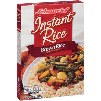 Schnucks® Instant Brown Rice 14 oz. Box