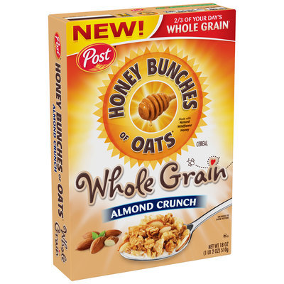 Honey Bunches of Oats Whole Grain Almond Crunch Cereal