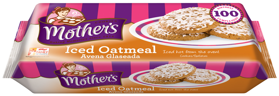 Mother's® Iced Oatmeal Cookies