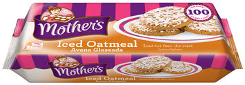 Mother's® Iced Oatmeal Cookies 13.25 oz. Pack