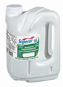 Superior Reduced Fat Cultured Buttermilk .5 Gal Jug