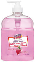 Special Value Antibacterial Sweet Strawberry Hand Soap 16.9 Fl Oz Pump