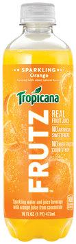 Tropicana® Frutz™ Orange Sparkling Water And Juice