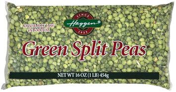 Haggen Green Split Peas 16 Oz Bag