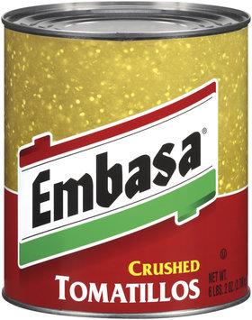 Embasa® Crushed Tomatillos 98 oz. Can