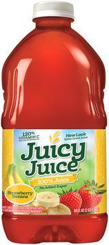 Juicy Juice® Strawberry Banana No Added Sugar 100% Juice 64 fl. oz. Bottle