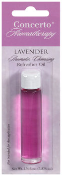 Concerto® Aromatherapy Lavender Refresher Oil  0.25 fl.oz. Carded Pack