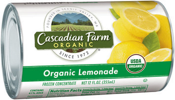 Cascadian Farm® Organic Lemonade Frozen Concentrate 12 fl. oz. Can