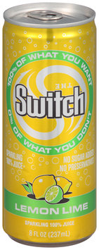 The Switch™ Sparkling 100% Juice Lemon Lime 8 fl. oz. Can