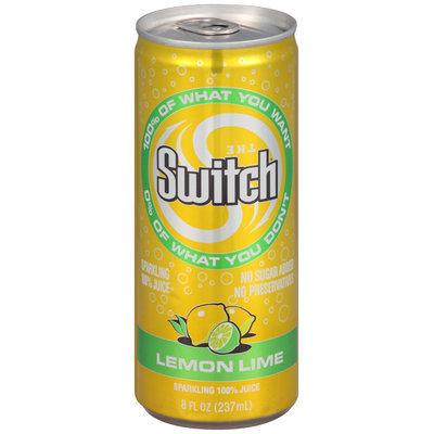 The Switch™ Sparkling 100% Juice Lemon Lime 8 fl. oz. Can