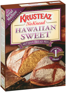 Krusteaz® No Knead Hawaiian Sweet Artisan Bread Mix 14 oz. Box