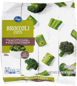 Kroger® Traditional Favorites Broccoli Cuts 32 oz. Bag