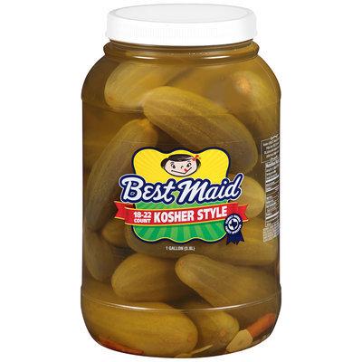 Best Maid® Kosher Style Pickles 1 gal. Plastic Jar