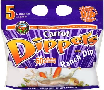 Grimmway Farms Carrot Dippers® with Ranch Dip