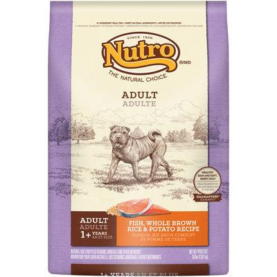Nutro® Adult Fish, Whole Brown Rice & Potato Recipe Dog Food 30 lb. Bag