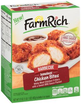 Farm Rich™ Barbecue Boneless Chicken Bites 17 oz. Box
