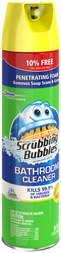 Scrubbing Bubbles® Disinfectant Citrus Scent Bathroom Cleaner 25 oz. Aerosol Can