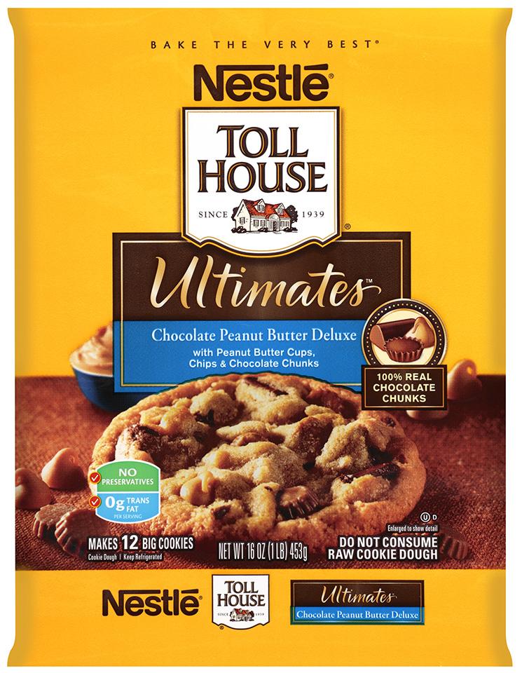 Nestlé® Toll House®  Ultimates™ Chocolate Peanut Butter Deluxe Cookie Dough