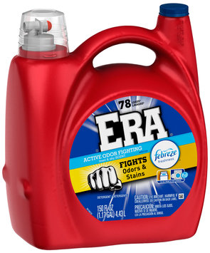 Era with Febreze Freshness Linen & Sky Scent Liquid Laundry Detergent 150 fl. oz. Bottle