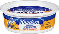 Knudsen Hampshire Sour Cream 8 oz. Tub