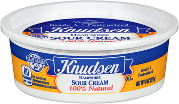 Knudsen Hampshire Sour Cream 8 oz. Tub